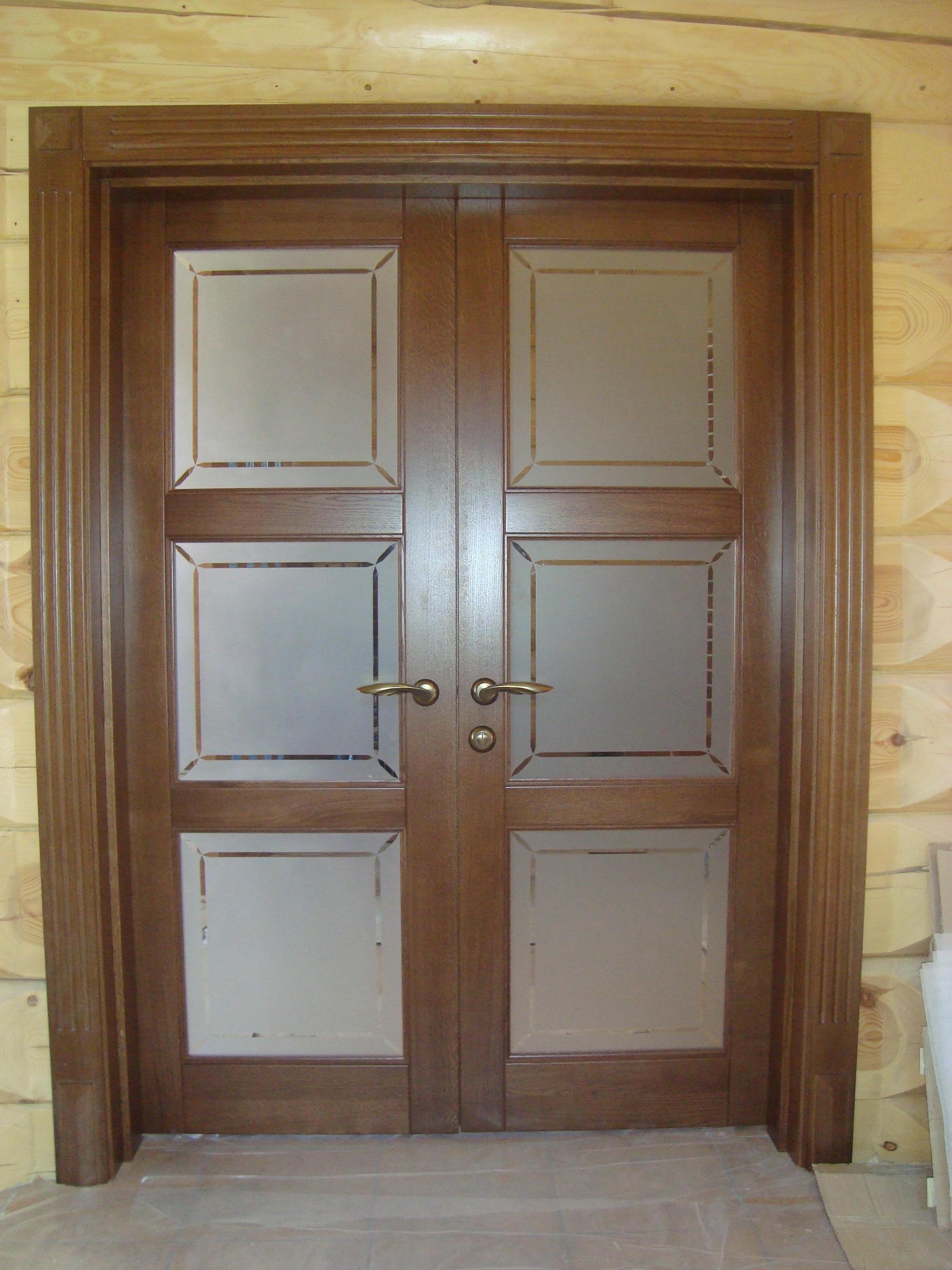 купить двустворчатые входные широкие двери